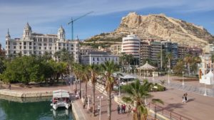 Coast of Alicante, Spain