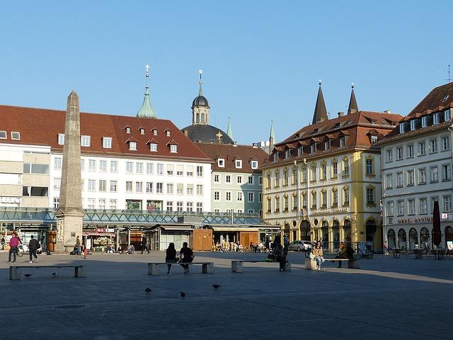 Wurzburg Market Square