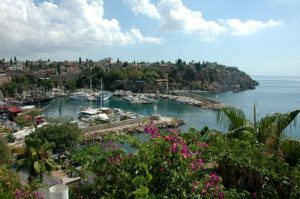 A view of Antalya bay